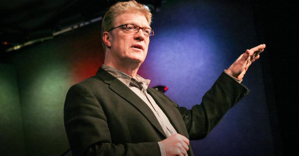 """Ken Robinson, """"l'école tue la créativité"""""""